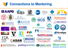 Image of Member Logos from the National Disability Mentoring Coalition.  The member list is available at: https://www.pyd.org/blog/national-center/national-disability-mentoring-coalition-members-sponsors/
